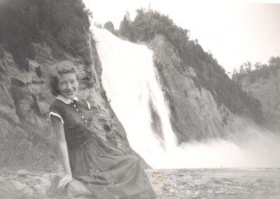 Chutes Montmorency - 1950